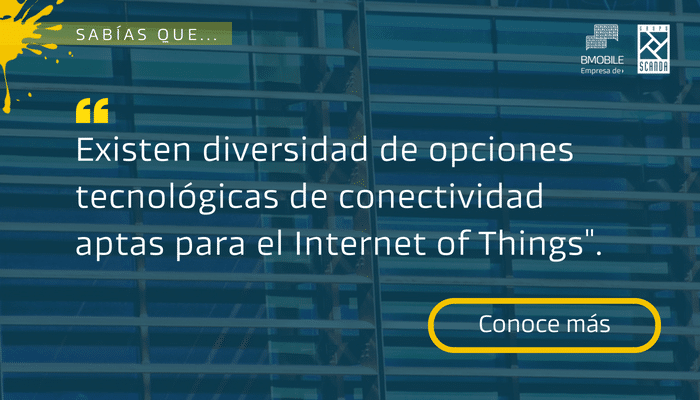 Tecnologías de conectividad aptas para Internet of Things | BMobile